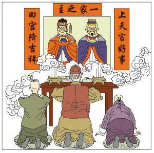 春节习俗手抄报_春节习俗英语手抄报
