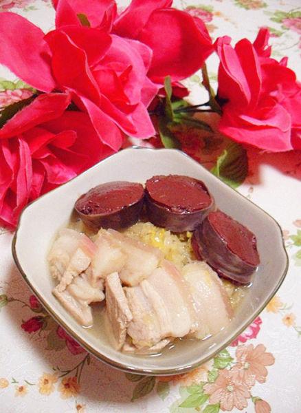 酸菜白肉血肠