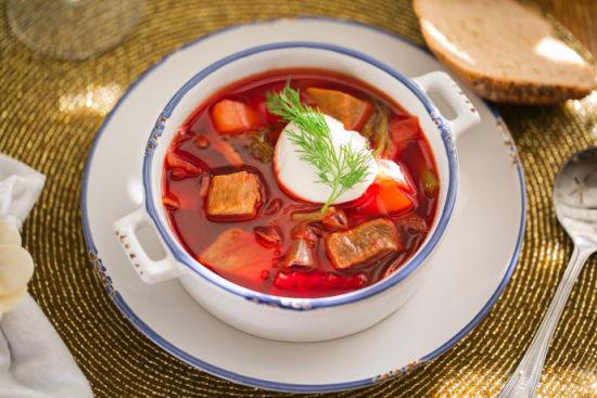 鲜美无比的俄罗斯罗宋汤