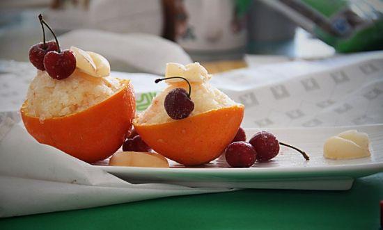 橙汁冰沙雪葩