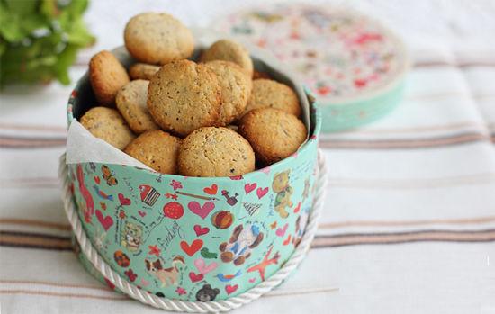 充满榛子香味的榛果小酥饼