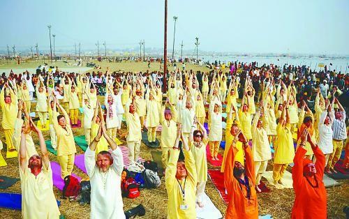印度成为外国人的修行圣地。
