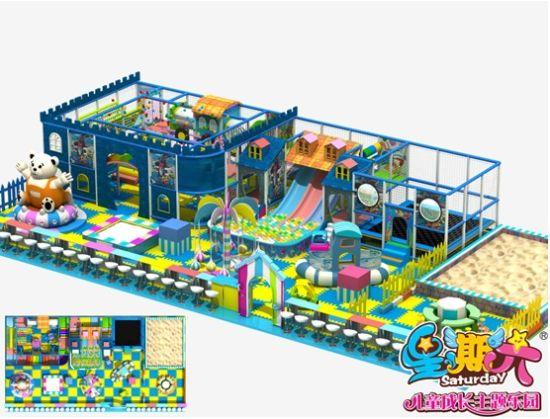 星期六儿童乐园直指儿童市场商机
