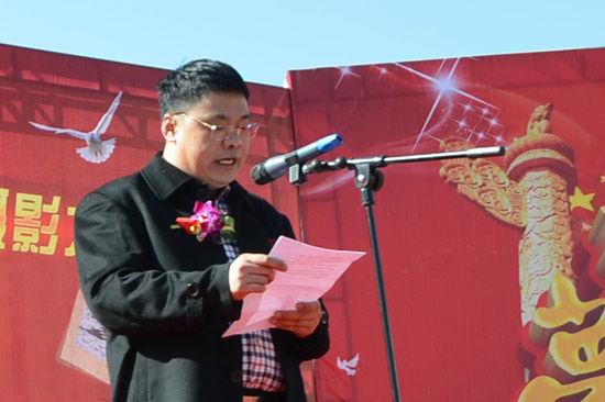山西民贤高级中学董事长刘阳讲话