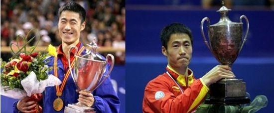 乒乓球世界冠军顶级选手——王励勤