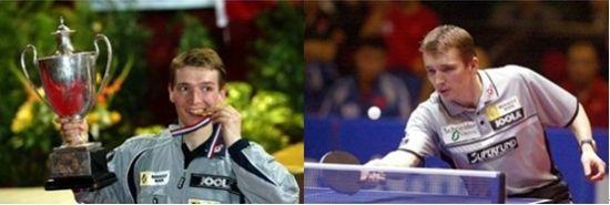乒乓球世界冠军、必美国际集团形象代言人——维尔纳。施拉格