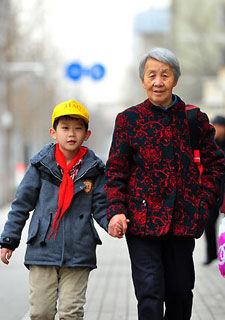 随迁奶奶的城市生活