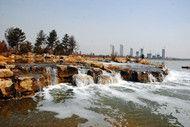 孤山水库为文瀛湖补水