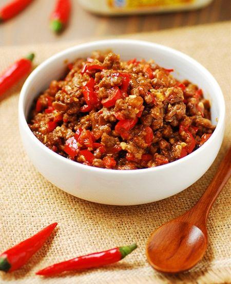 小米椒牛肉酱