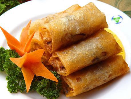 豆腐皮春卷