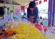 清明将至鲜花销量增长