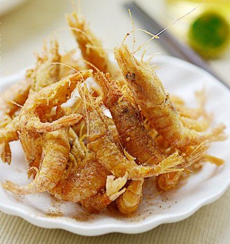 春季要吃全面补钙的椒盐小酥虾