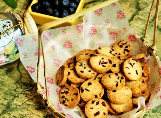 蔓越莓小饼