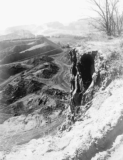 沙万村七沟、八梁、九面坡的生态林区已不见踪影,空余断崖、残枝。