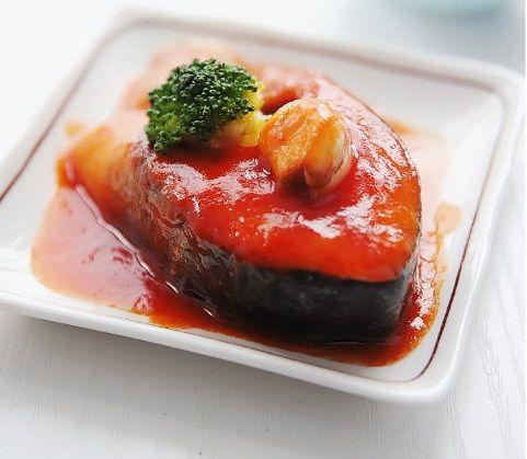 茄汁三文鱼
