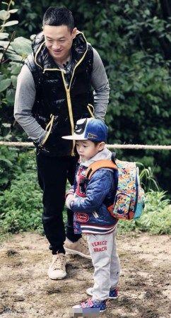 杨威与儿子