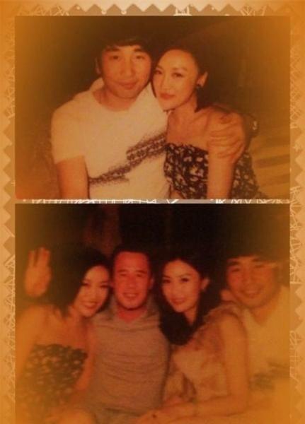 杨坤和女友合照