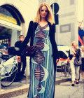 雪纺连衣裙打造满分气质时尚女神