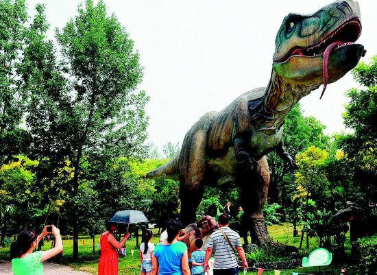 太原动物园仿真恐龙