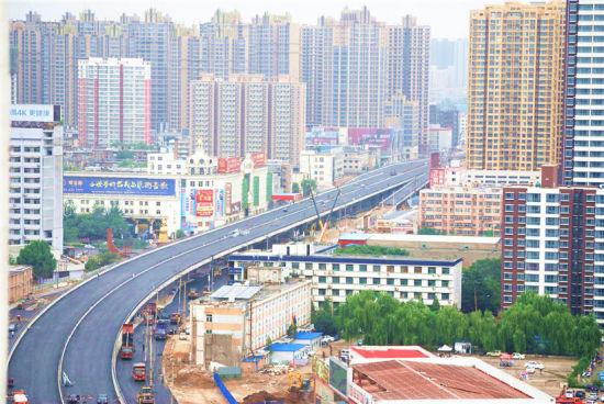 组图:太原建设路改造最新进展