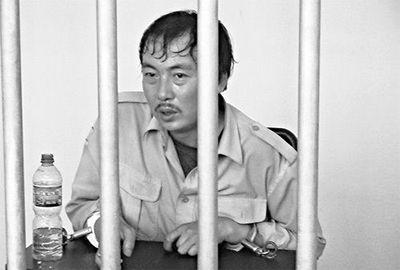 赵在鑫被捕时的资料图
