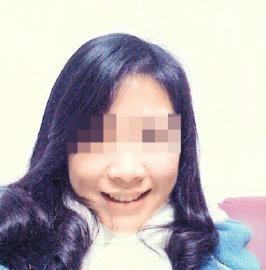 网友@传说中的松哥发布的表妹徐梦娜的照片。