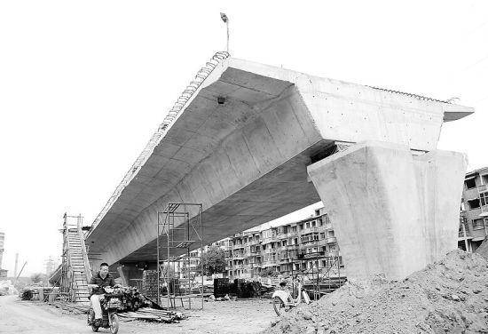 南沙河首架高架桥。