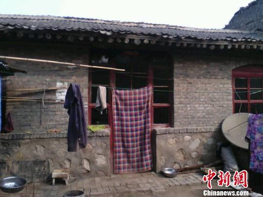 王小杰位于山西介休市龙凤镇龙凤村的家。 范丽芳 摄