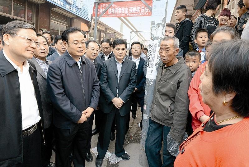 王儒林在太原调研 强调净化政治生态发挥表率作用