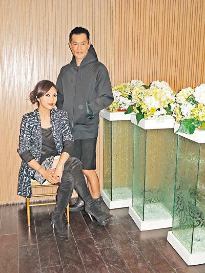 杨千嬅饰演古天乐的新欢之一。