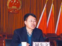 11月28日:大同阳高县县委书记解先文涉嫌违法接受调查
