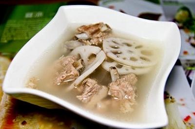 灵莲藕排骨汤