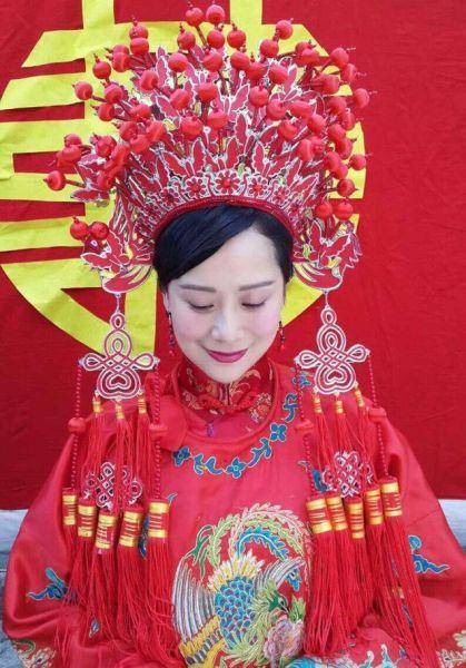 海清穿大红嫁衣