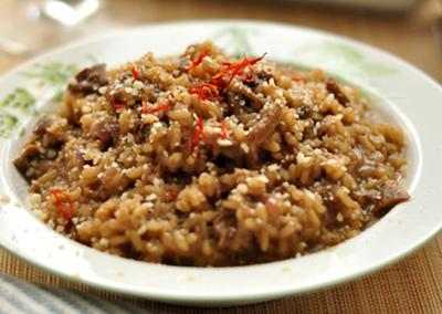 意式牛肝菌炖饭