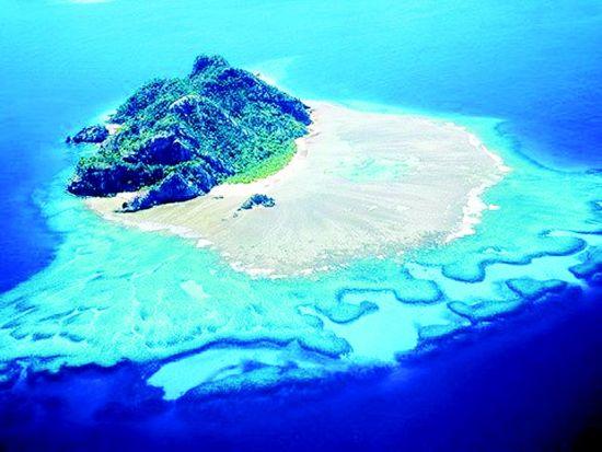 斐济最美天堂 第一缕晨光的地方