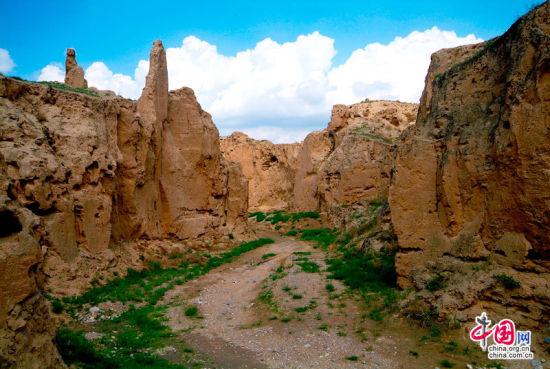 宁夏水洞沟风景独好 享一场穿越史今的旅游盛宴