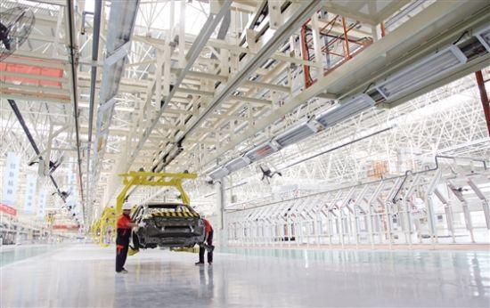 晋中吉利新能源汽车年底投入试生产
