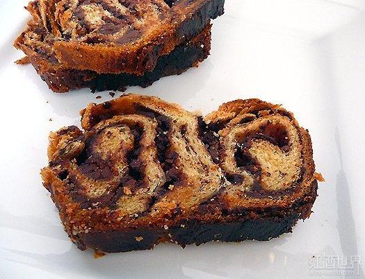 巧克力巴布卡面包