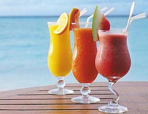 五步榨出营养果汁(图)