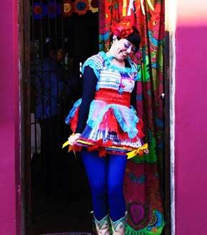 色彩斑斓的巴西街头