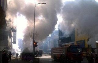沈阳太原街一地下通道发生爆炸
