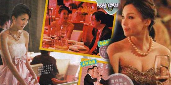 曝TVB三花旦饭局照 挤胸陪酒哄富商